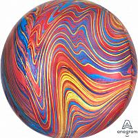 Marble Orbz - Mixed Colors - 16""