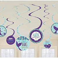 Mermaid - Swirly Decorations