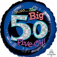 """Mylar - 18"""" - Oh no! 50"""
