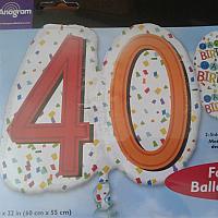 """Mylar - 24"""" - Rainbow 40"""