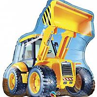 "Mylar - 32"" - Construction Loader"