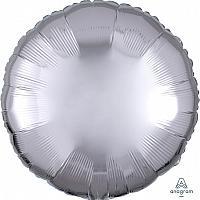 """Mylar 18"""" - Silver Round"""