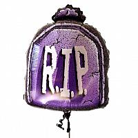 "Mylar - 26"" - RIP Tombstone"