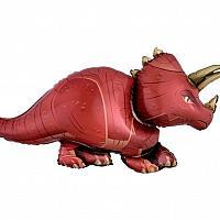 """Mylar - 42"""" - Triceratops"""