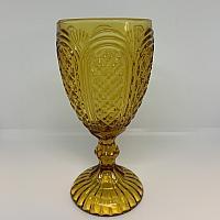 Vintage Goblet - Amber