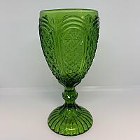 Vintage Goblet - Olive Green