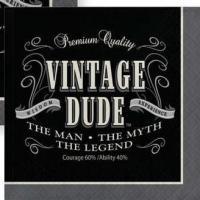 Vintage Dude - Napkins