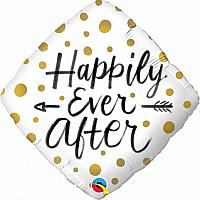 """Mylar - 18"""" - Happily Ever After"""