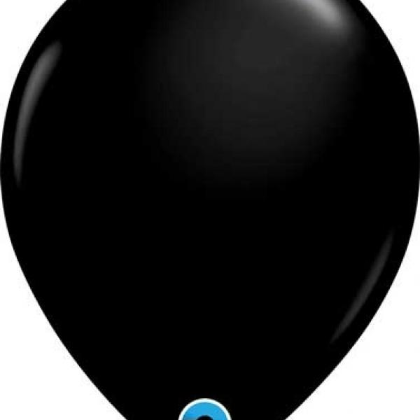 "Balloon - 11"" Latex - Black"