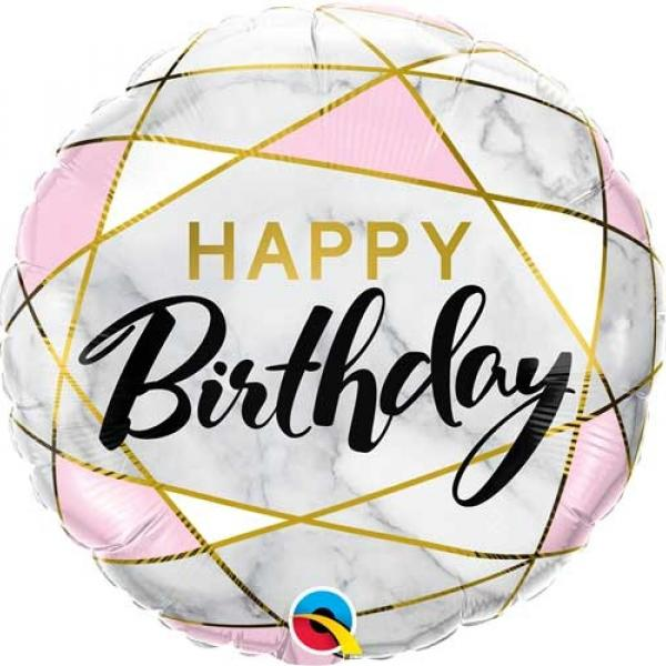 "Mylar - 18"" - Rectangle Birthday"