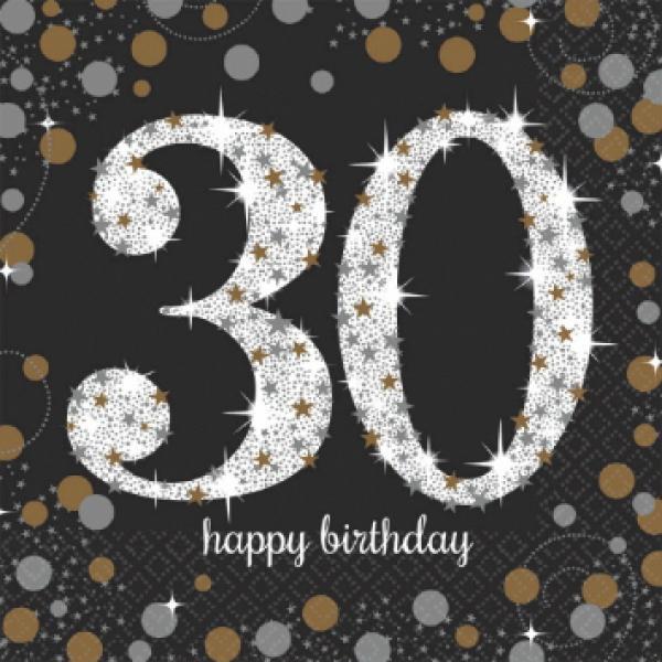 Sparkling Celebration - 30 Napkins
