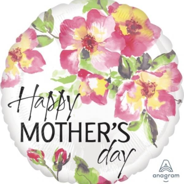 "Mylar - 18"" - Happy Mother's Day"