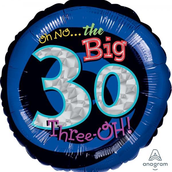 """Mylar - 18"""" - Oh No! 30"""