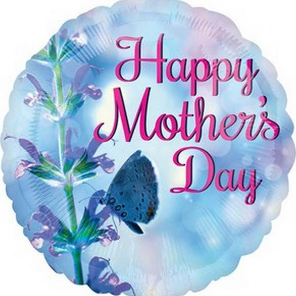"Mylar - 18"" - Happy Mother's Day"
