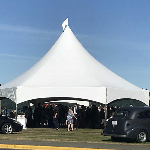 35'x35' Marquee Hex Tent