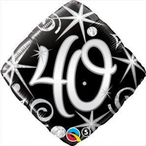 """Mylar - 18"""" - 40 Sparkle"""
