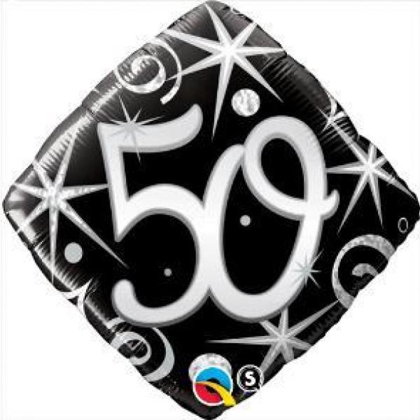 """Mylar - 18"""" - Elegant 50"""