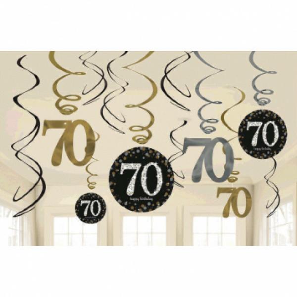 Sparkling Celebration - Swirly Decoration - 70