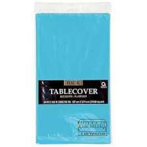 Plastic Tablecover - Rectangle - Turquoise