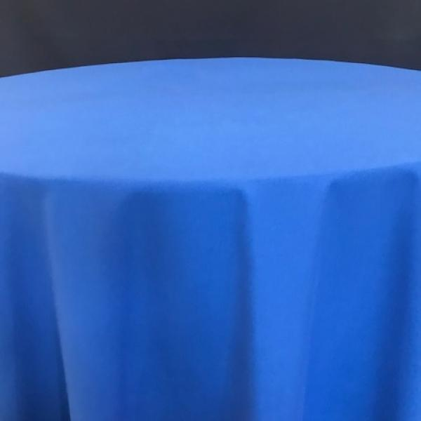 Round Linen - Royal Blue - 90""