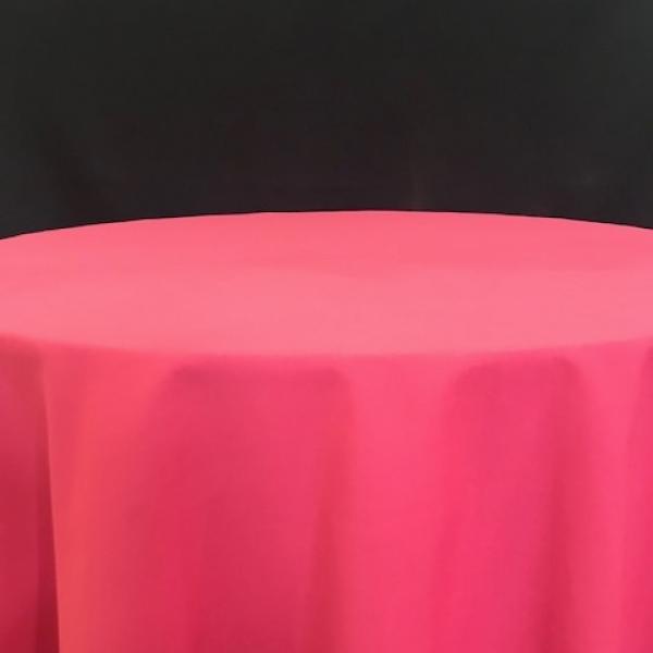 """Banquet Linen - Raspberry - 90""""x 156"""""""