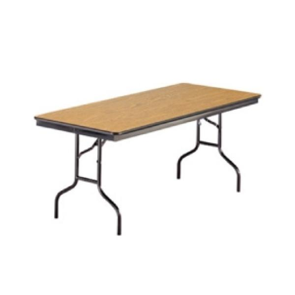 6' Banquet Table - Wood