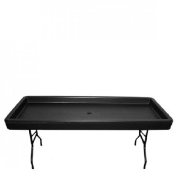 6' Fill n' Chill Cold Beverage Table