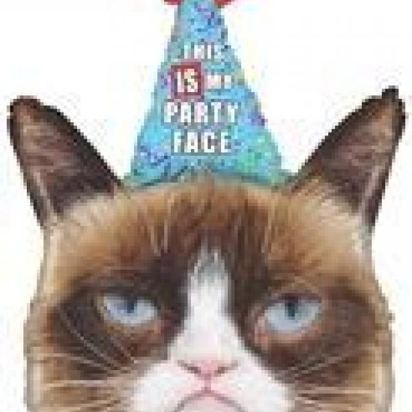 Mylar - Grumpy Cat - Supershape