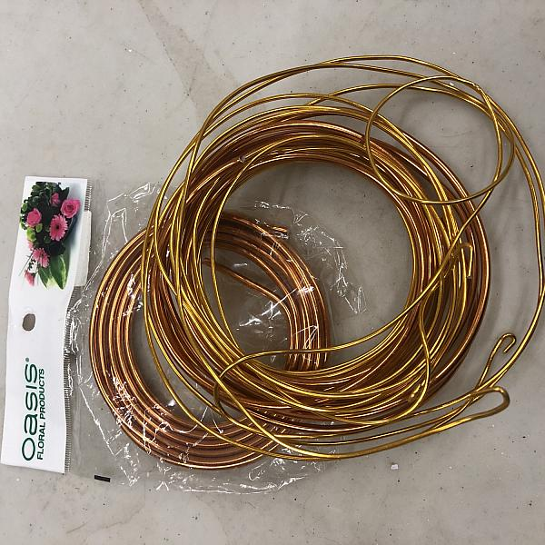 Copper Floral Wire