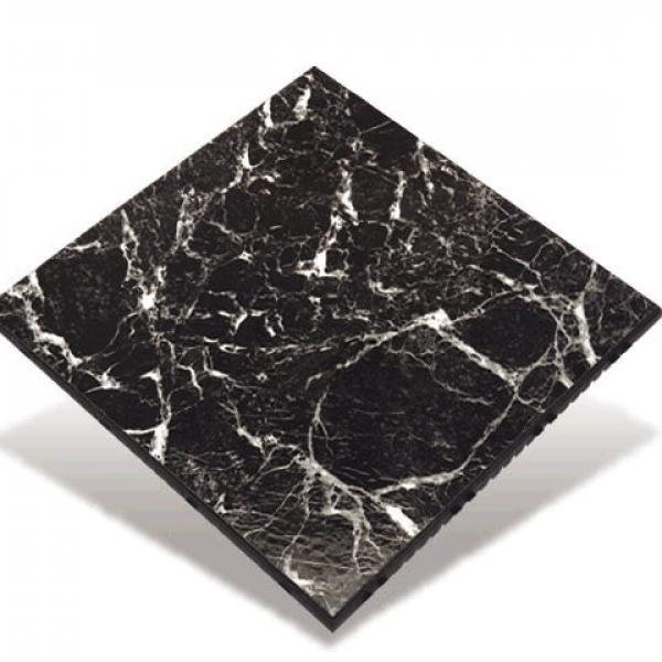 12'x12' Black Marble Dance Floor