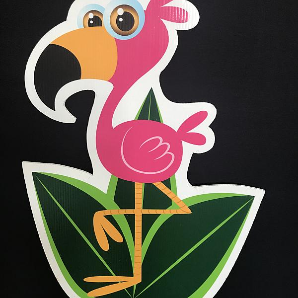 Lawn Bomb Kit - Perky Flamingo - DIY