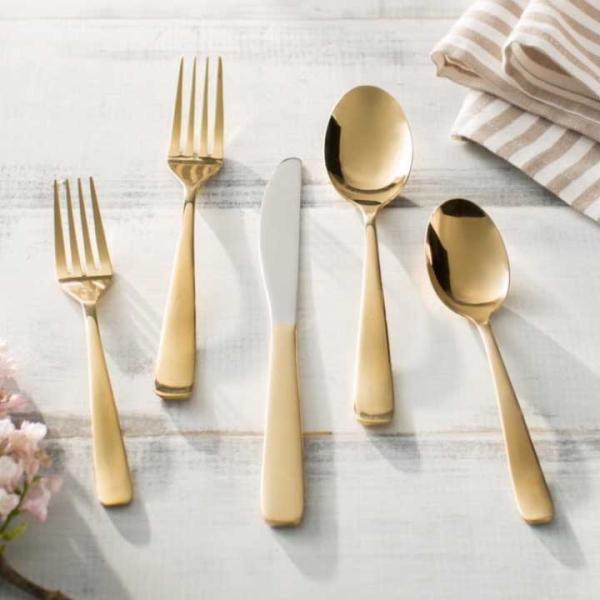 Gold Salad Fork