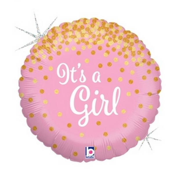 "Mylar - 18"" - It's A Girl"