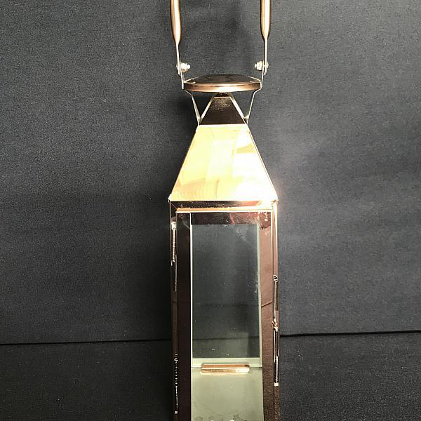 "Lantern - Copper 12"" h"