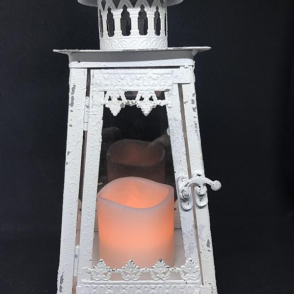 """Lantern - Vintage White 5"""" x 12"""""""