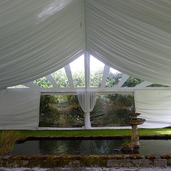 40'x40' Frame Tent Liner