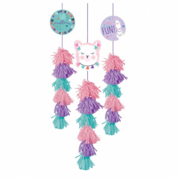 Llama Fun Dangle Decoration