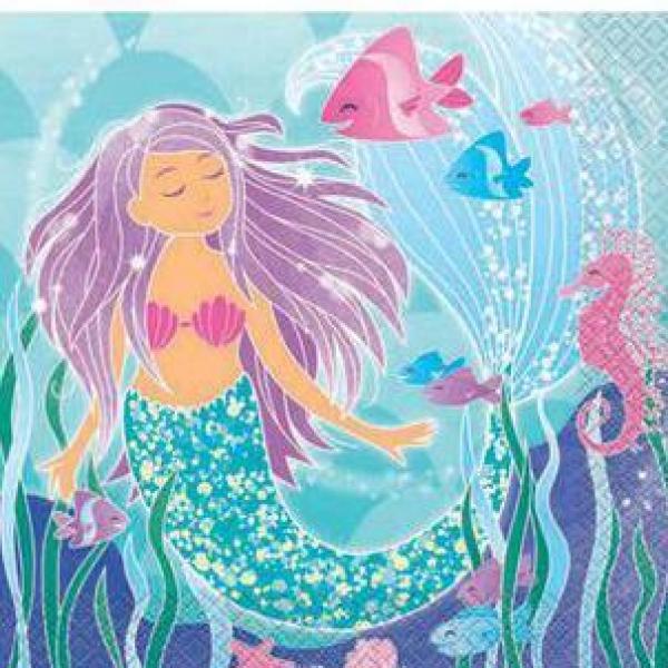 Mermaid Napkins