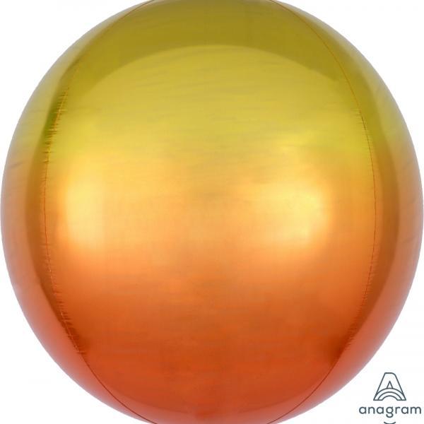 """Ombre Orbz - Yellow & Orange - 16"""""""