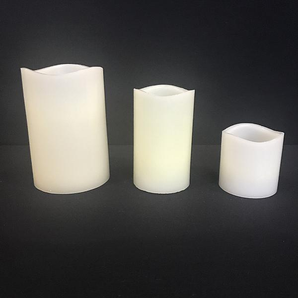 "Pillar Candle - LED 3"" x 3"" (Battery included)"