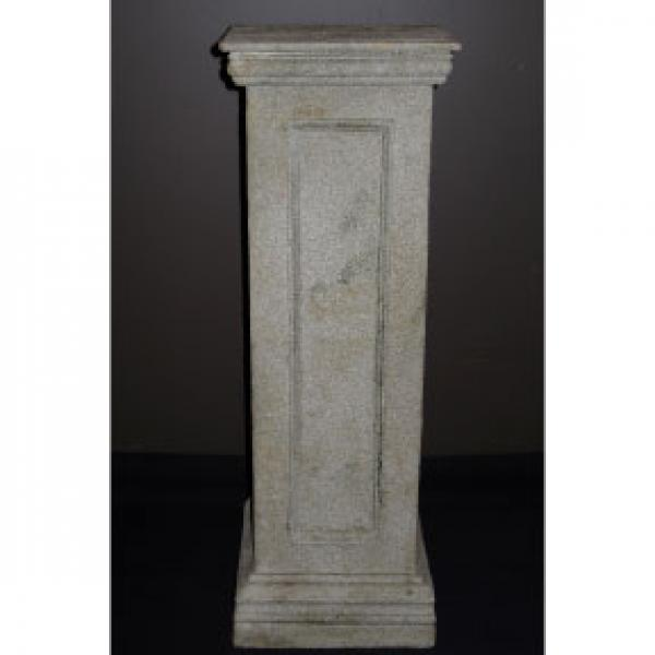 "Pillar - Stone Finish - Square - 33"""