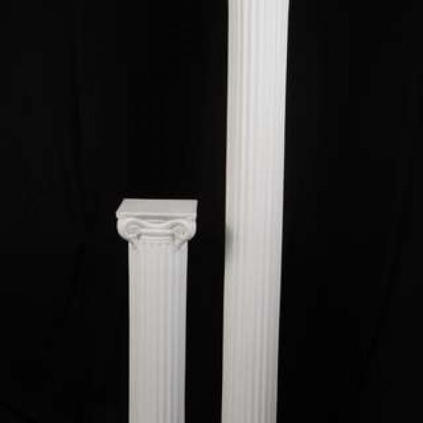 """40"""" Roman Columns - Plastic - White"""