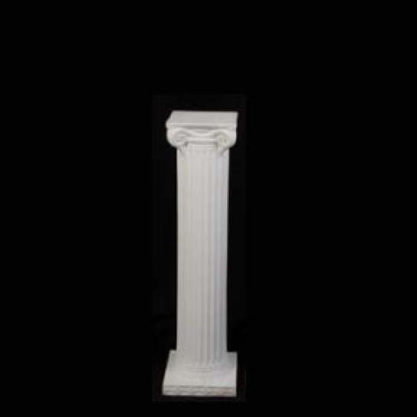 6' Roman Columns - Plastic - White
