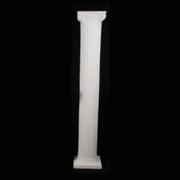 8' Roman Columns - Plastic - White