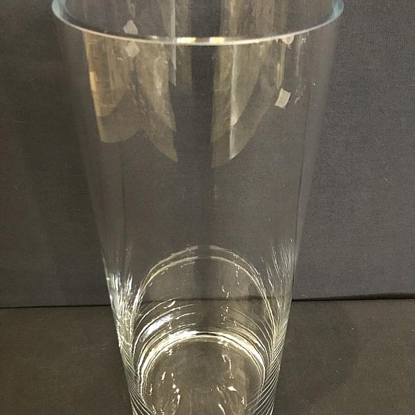 """Round Cylinder Vase - 5.5"""" x 16"""""""