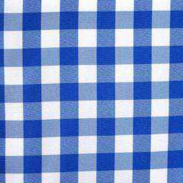 Table Runner - Gingham - Blue