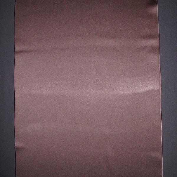 "Table Runner - Satin - Chocolate 19"" x 106"""