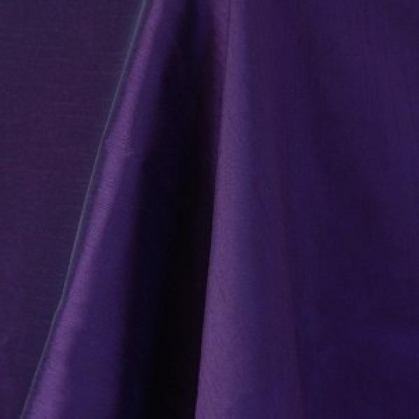 Table Runner - Raw Silk - Purple