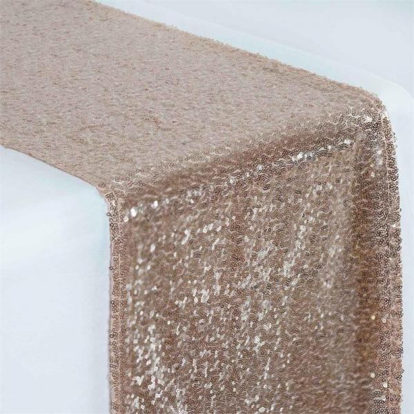 Table Runner - Sequin - Blush
