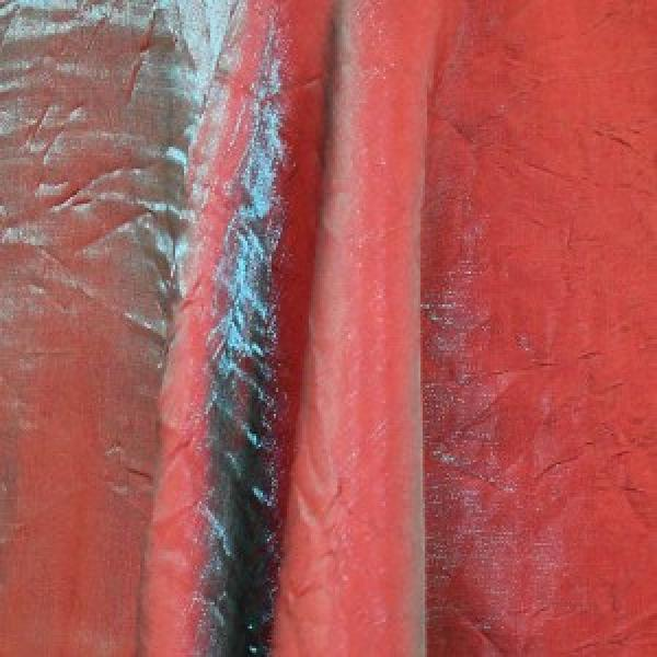 "Table Overlay - Crushed Silk - Burnt Orange 72"" x 72"""